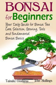 Bonsai for Beginners Book: Your Daily Guide for Bonsai Tree Care, Selection, Growing, Tools and Fundamental Bonsai Basics « zGardenSupply
