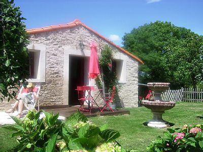 Une des piscine du Village de gîtes à vendre à Saint-Viaud en Loire-Atlantique