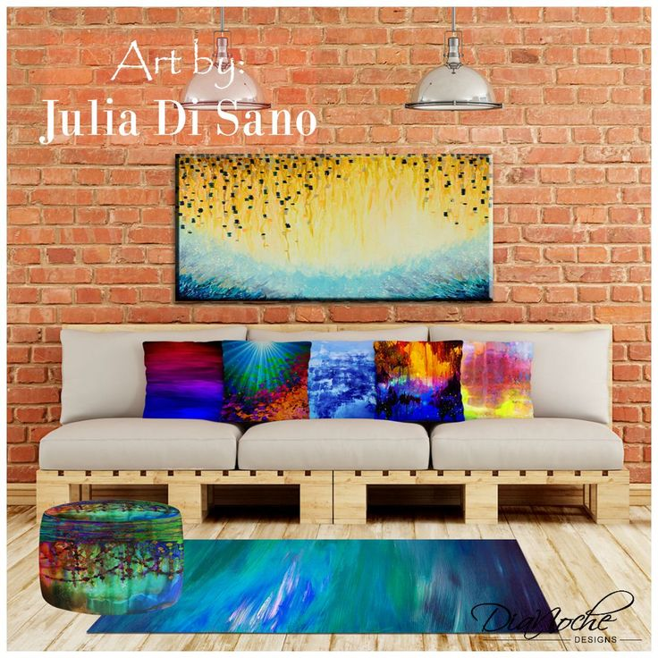 Exclusive artistic décor imbue the walls and lighting of your home or office in the colors