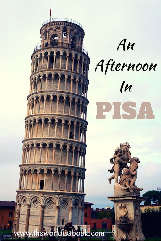 Tips on spending a few hours in Pisa with kids. See what it's like to climb the Leaning Tower of Pisa with kids. Italy with kids. One day itinerary in Pisa.