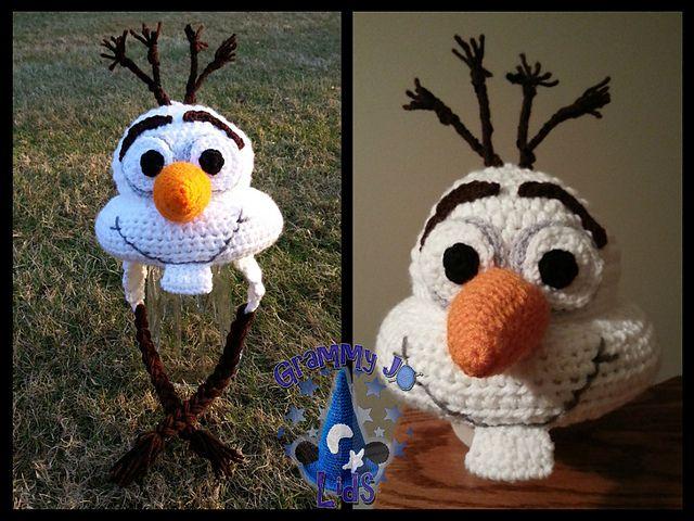 Amigurumi Patterns Olaf : Best amigurumi crochet doll crochet cute doll crafts