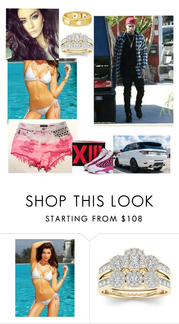 """tyga's wife"" by skrillexgurl ❤ liked on Polyvore featuring Modern Bride and Allurez"