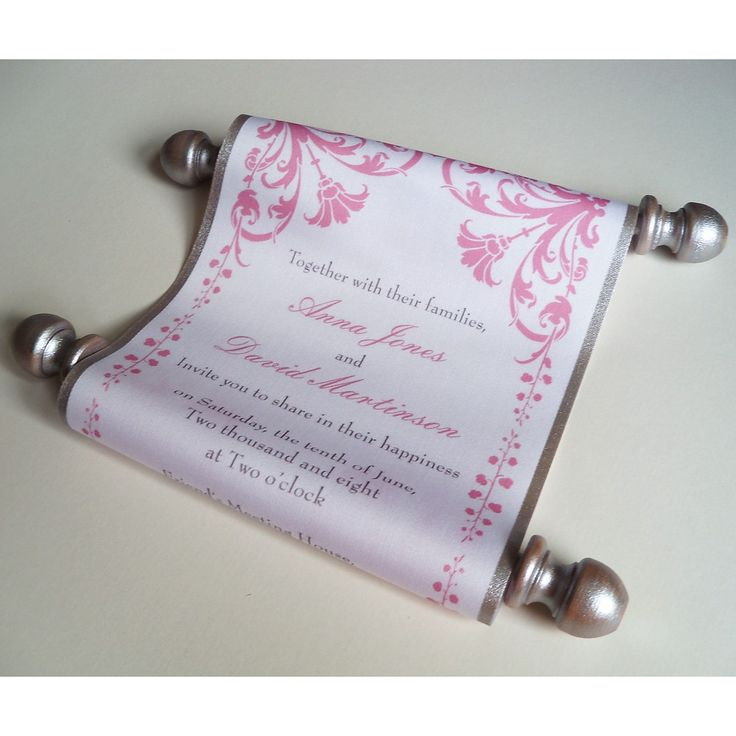 Wedding Invitations Scrolls Tubes: 38 Best Images About Wedding Paperwork On Pinterest