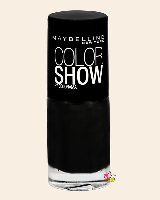 MAYBELLINE Color Show Oje 677 Blackout Siyah