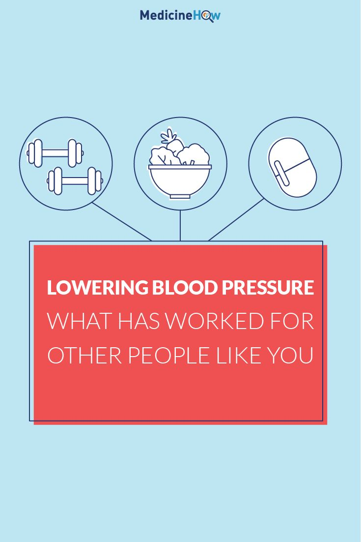 Lowering Blood Pressure: What Has Worked For Other People Like You