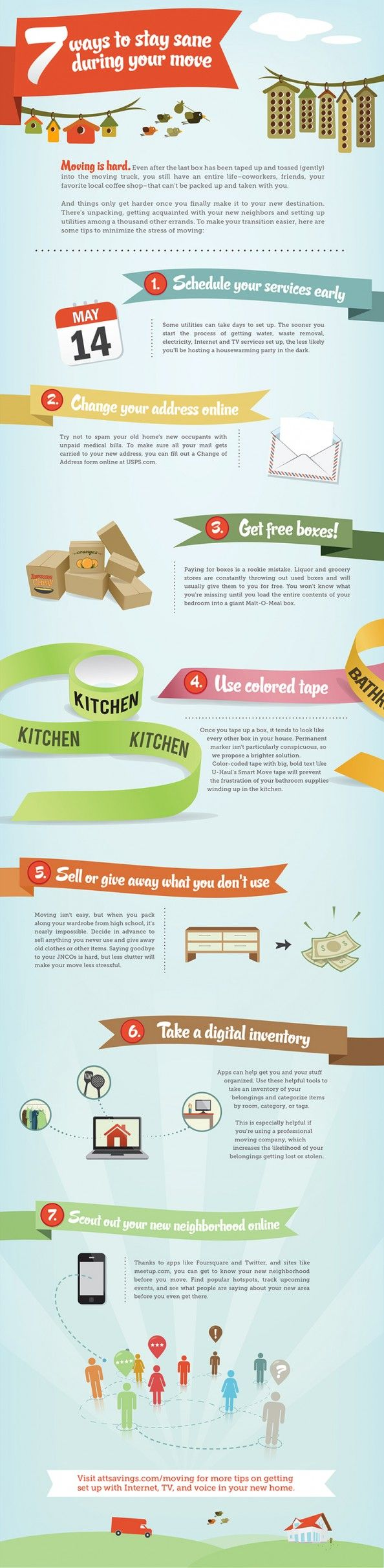 7 Best Moving Tips Infographic. At Grayhawk Homes, we will be there for you even after you purchase one of our ENERGY STAR certified homes. Visit us at http://www.grayhawkhomesinc.com/index.html for more ways we can help you.