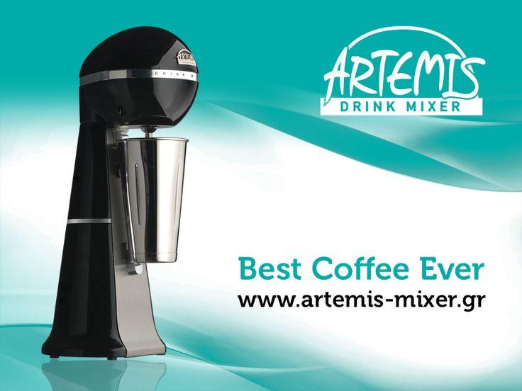 Best Coffee Ever with #ARTEMIS DRINK MIXER