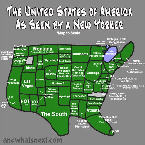 Us As Seen By New Yorkers