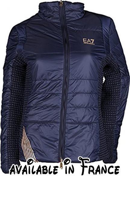 B076CNXQBT   Emporio Armani - Blouson - Femme - bleu - bleu marine ... 17a3344c1b3