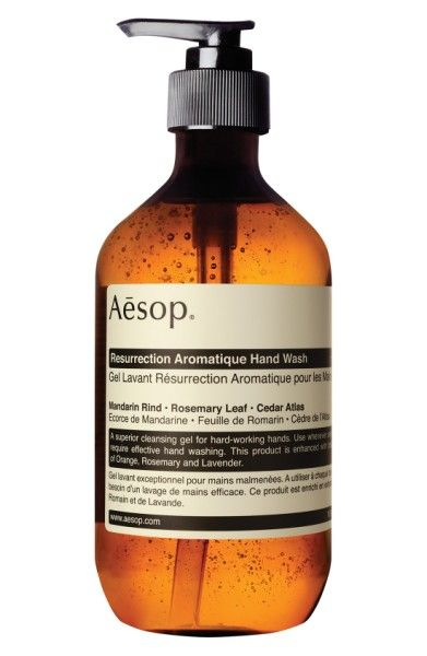Aesop Resurrection Aromatique Hand Wash  | *Disclosure: This is an affiliate link. This means that if you purchase an item or items through this link, you won't pay a penny more, but we will earn a commission for the influence of the sale.