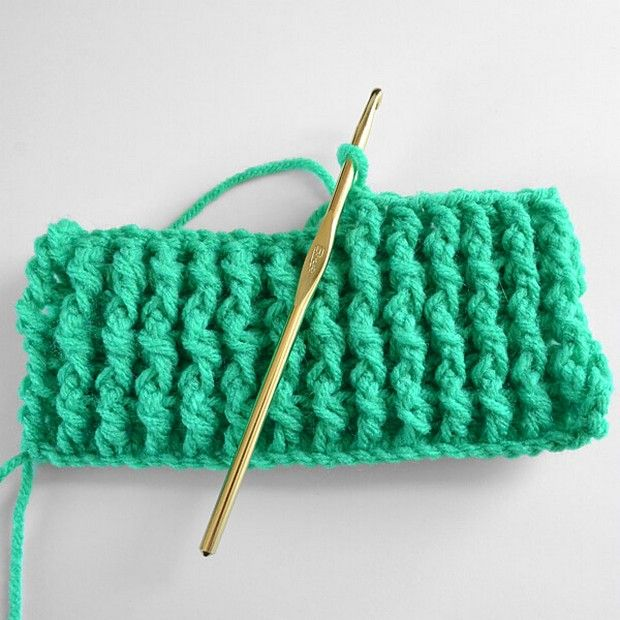 Learn the Single Rib Crochet Stitch with this Easy Photo Tutorial!