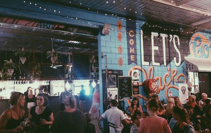 Marketta Miami, Gold Coast (Queensland) Australia. Food market