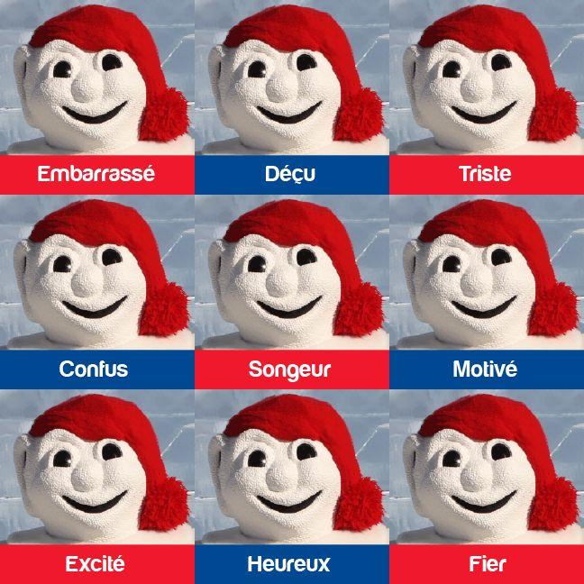 Les nombreuses faces de Bonhomme