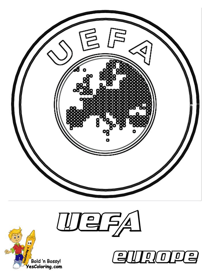 UEFA Picture To Print Out