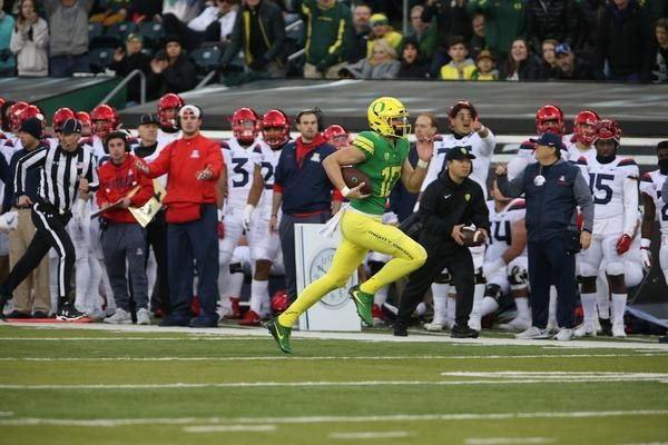 Oregon Football Huddlecast: Oregon vs. Arizona 2017 | JJ Birden