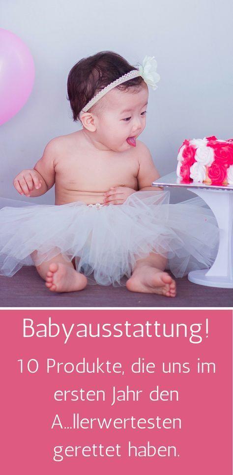 0bae9b141c5646 Babyausstattung. Das Wichtigste im ersten Jahr! Wir haben 10 Produkte für  euch