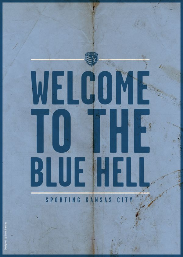 MLS Poster Series by Luke Barclay: Sporting Kansas City