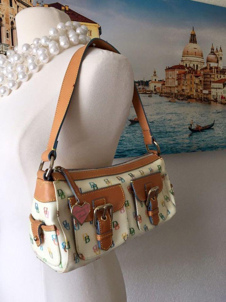 Dooney and Bourne Rainbow Monogram Handbag #DooneyBourke #ShoulderBag