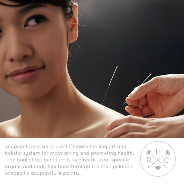 Acupuncture is an ancient Chinese healing art and holistic system for maintaining and promoting health.
