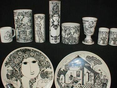 Bjørn Wiinblad ceramics