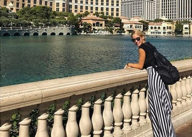 Δούκισσα Νομικού: Από την παγωμένη Νέα Υόρκη στο καλοκαιρινό Λας Βέγκας!