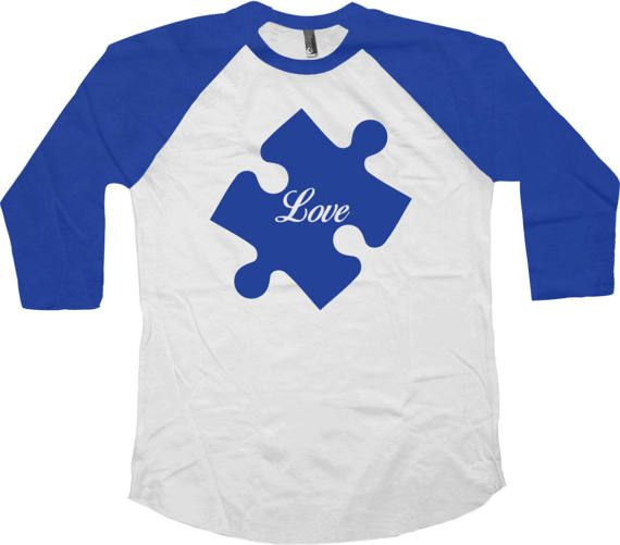 Autism Awareness Shirt - Autism T Shirt - Autistic Gifts - Autism Spectrum - Autism Support - Autism Speaks - Autism Awareness Day - Apple Shirt Love this design? Check out some other Autism Awareness Shirts: https://www.etsy.com/ca/shop/CherryTees?ref=hdr_shop_menu&section_id=17164841 ________________________________________________________ All raglans are American Apparel or Bella Canvas branded and custom made to order and are printed using the late...