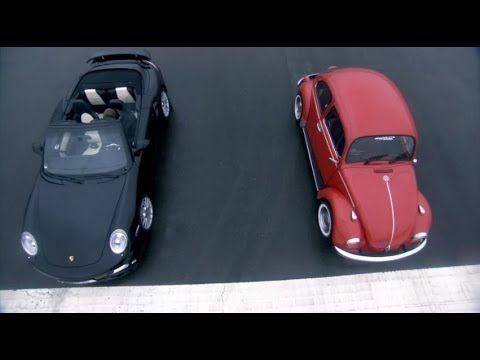 ▶ Porsche Turbo vs VW Beetle // From minute 5:20 my hearth was broken, a perfect beatle destroy. Desde el minuto 5:20 se me rompio el corazón, un bocho perfecto destruido. :'(