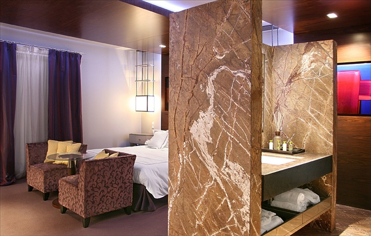 PORTFOLIO STUDIO SIMONETTI: room project@Vienna, credits Roberto Leone #bathroom #studiosimonetti #hoteldesigner #progettisti #design