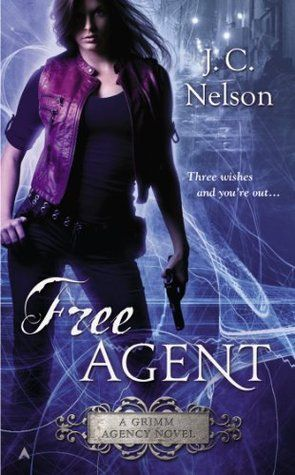 Cover Reveal: Free Agent (Grimm Agency #1) by J.C. Nelson -On sale July 29th 2014 by Ace -When it comes to crafting happily-ever-afters, the Agency is the best in the land of Kingdom. The Fairy Godfather Grimm can solve any problem—from eliminating imps to finding prince charming—as long as you can pay the price…