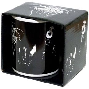 Official Darkthrone collectors ceramic coffee mug in presentation box.