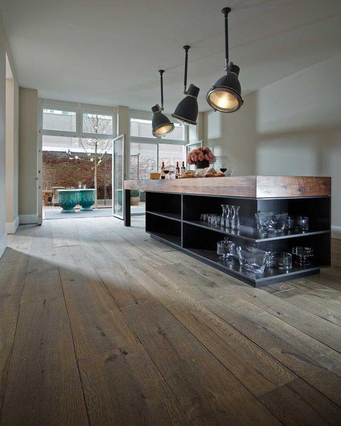 8 best Wohn- und Esszimmer images on Pinterest Homes, Attic and - holzdielen in der küche