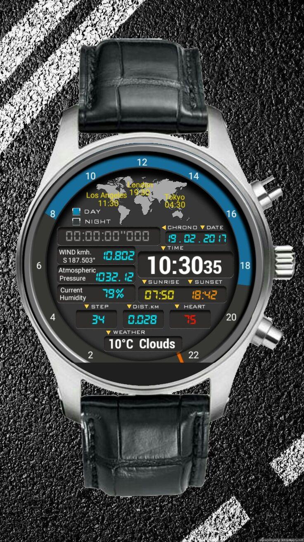 Eren Ganioğlu adlı kullanıcının Android wear watch faces