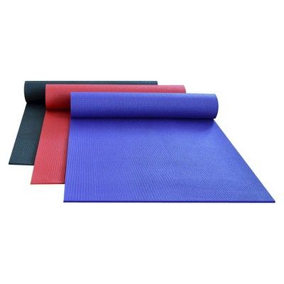 DragonFly Studio Deluxe Sticky Yoga Mat - Red (6mm)