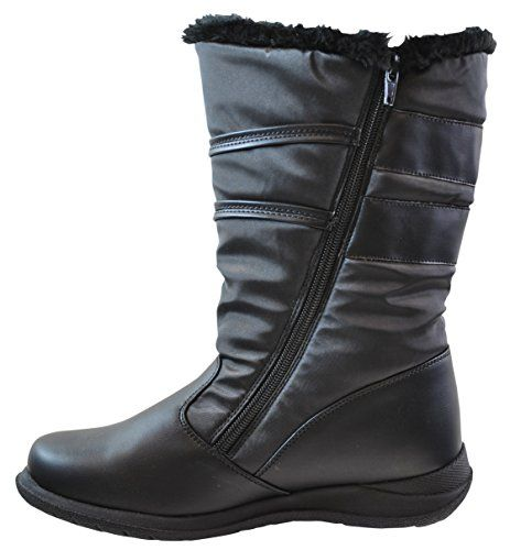 Sporto Women's Joan Snow Boot, Black, 9 B(M) US... This Sporto boot has it all. Waterproof upper keeps out the cold and wet. Thermolite insole for extra warmth, and a rubber sole to protect you from the elements. Stay warm, dry and comfortable all winter long with these Sporto boots.Waterproof, To Keep Feet Warm and DryThermolite Insulation For......http://bit.ly/2jmwBz5