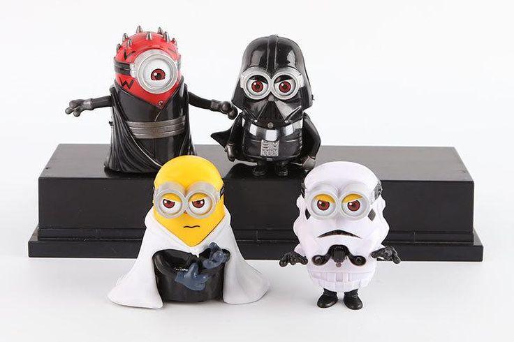 Lightning Minion Star Wars Cosplay Action Figure - 4pcs