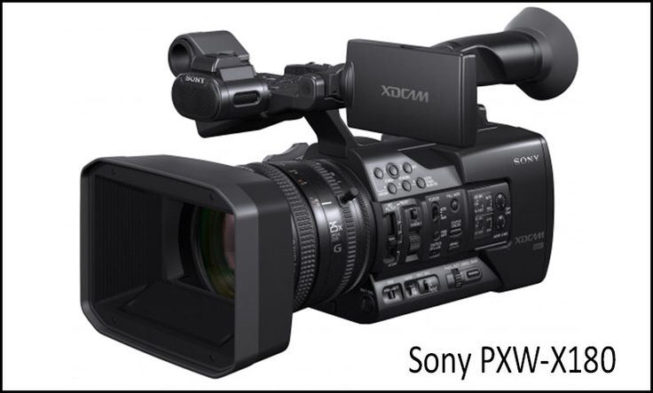 New from NAB 2014...Sony PXW-X180