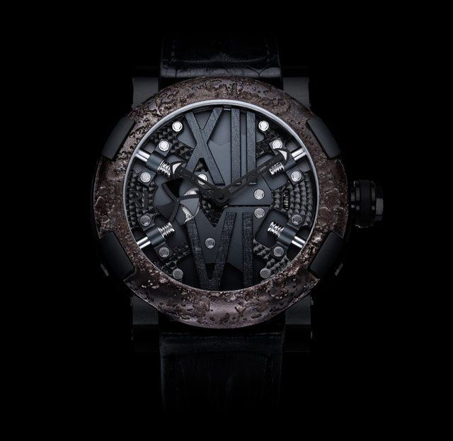 Titanic Steampunk Black Watch By Romain Jerome