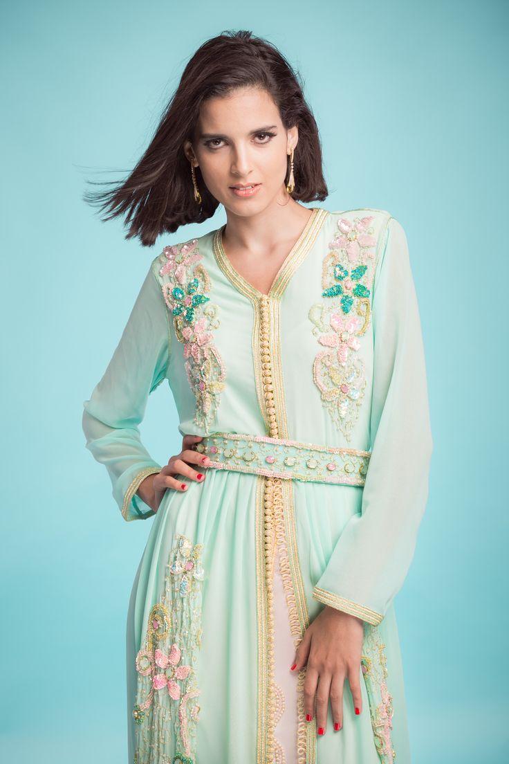 Moroccan Caftan - Stylist : Najat El Fassi Model : Loubna Bouhaj