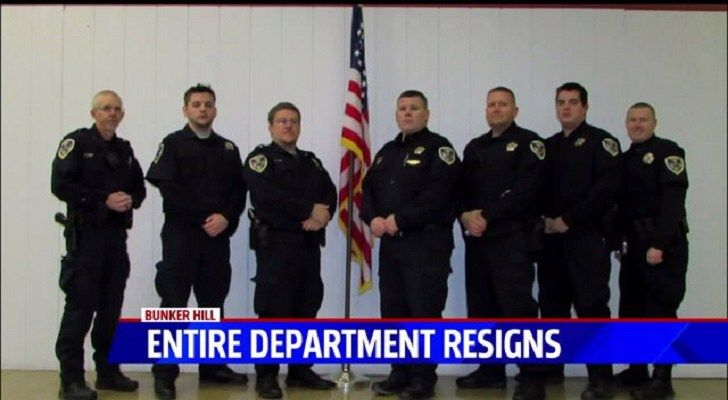 """Entire Indiana Police Department Quits After """"Being Told To Do Illegal, Unethical, and Immoral Things"""""""