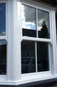 clean upvc sash window from charisma collection #sashwindows