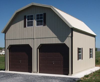 2 Story Sheds | Amish Built Two Story Storage Buildings, Virginia, VA