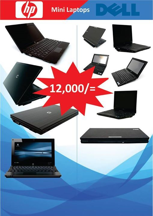 Dell Latitude 2100 / HP 5101 Netbooks  Intel Atom N270 1.60 GHz processor 512 MB L2 Cache, 533 MHz 2 GB DDR2 RAM  160 GB hard drive  No optical drive Integrated Intel Graphics Media Accelerator (GMA) 950  Color: Black Microsoft Windows 7 Home Premium pre-installed w/CoA Stereo speakers , microphone  Wifi (IEEE 802.11g, IEEE 802.11b)  Offer Valid while stocks Last call / whatsapp 0723642790/ 0710 620 657 / 0712558448  Or Visit us At:  NAIROBI.Moi Avenue Imenti House Basement Shop No B10…