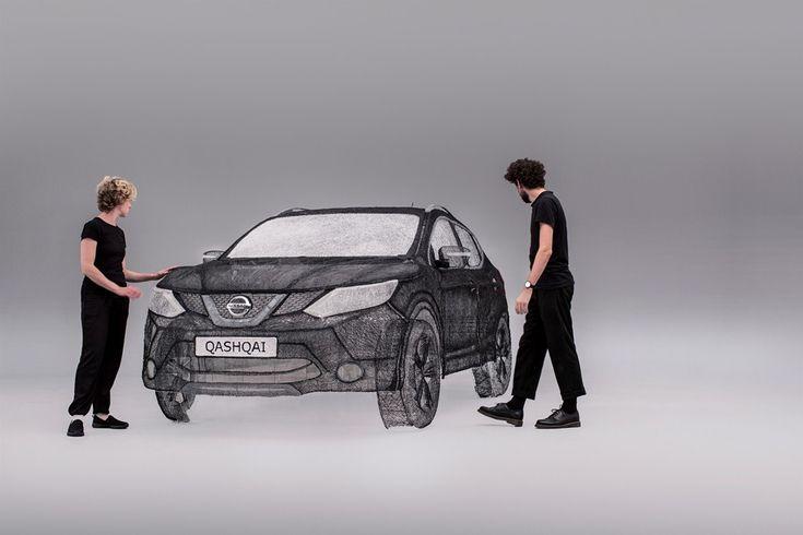 Η Nissan κατασκεύασε την μεγαλύτερη τρισδιάστατη εκτύπωση στον κόσμο σε… QASHQAI…