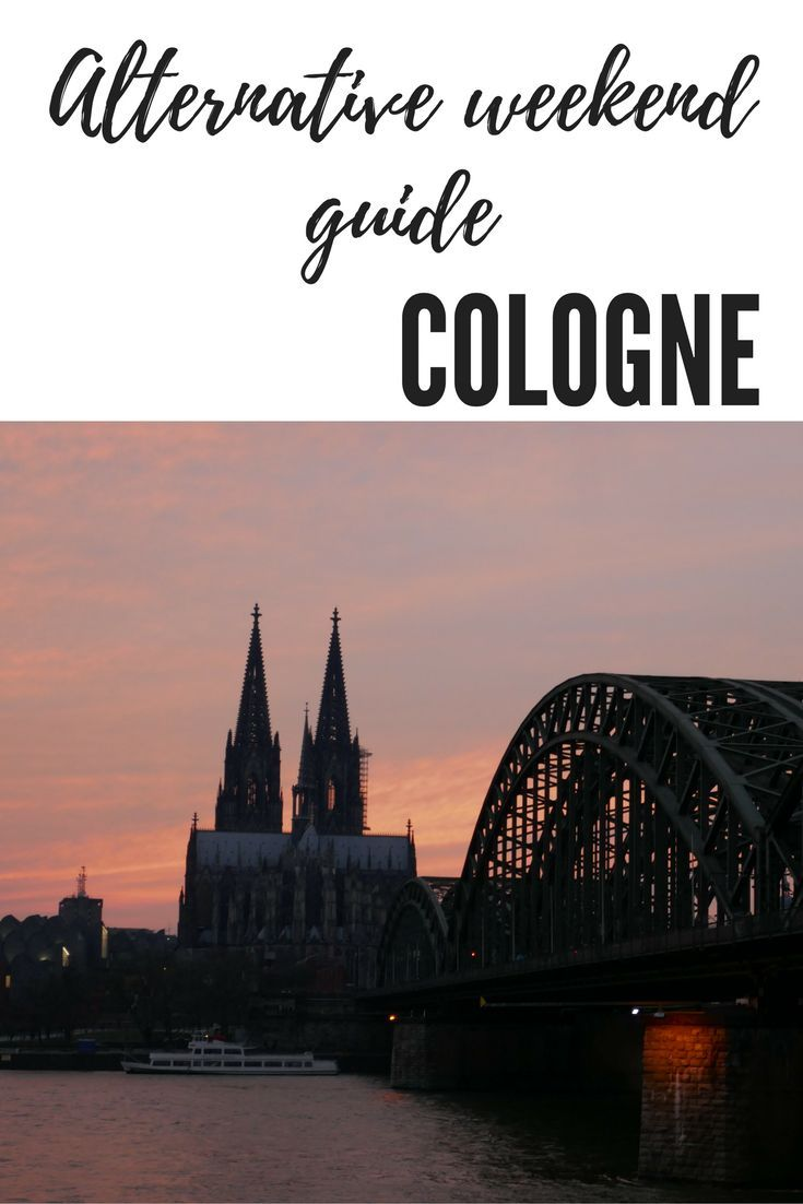 An alternative travel guide of things to do in cologne, Germany. Don't stop at seeing the Cathedral/Dom this 48 hour travel guide to Cologne will give you plenty of tips and ideas for your weekend in Germany.: