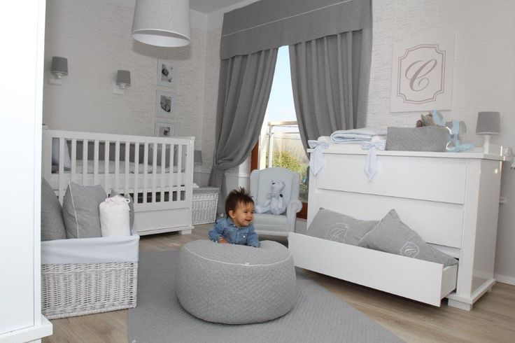 Boy's room ideas with a twist of light grey and dark grey accessories from www.caramella.pl
