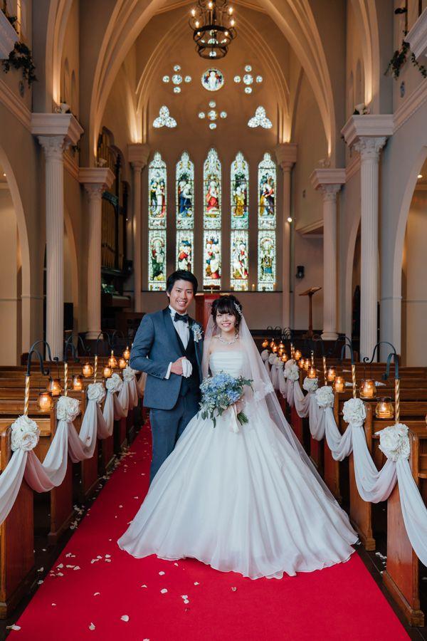 大阪心斎橋の教会ウェディング 結婚式場 大阪セントバース教会 ウェディング 教会 ウェディング 教会 結婚式