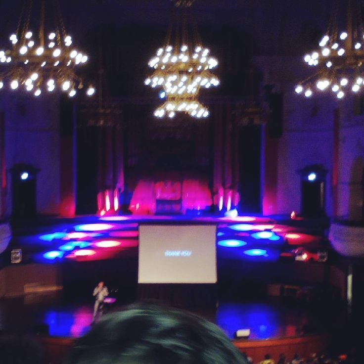 Taken at the last PechaKucha  event at the Cape Town City Hall.