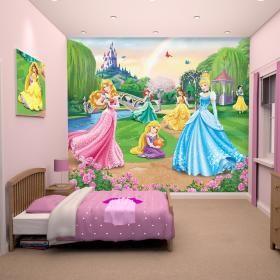 Παιδική Θεματική Ταπετσαρία Disney Princesses