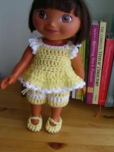 Love and Sunshine -15: doll - Free Original Patterns - Crochetville