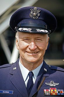 Gail Halvorsen, a.k.a. The Candy Bomber, or Uncle Wiggly Wings. He and his crew dropped 850 tons of candy over Germany 1948-1949.